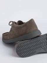 Mens Grey Geox Errico Suede Shoe