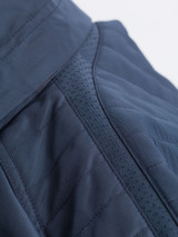 Close Up of Navy Blue Geox Renny Jacket Detail