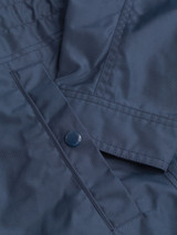 Close Up of Navy Blue Geox Renny Jacket Pocket