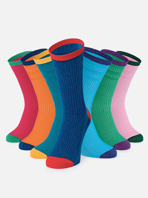Image of HJ Softop 7 Sock Pack - soft top socks