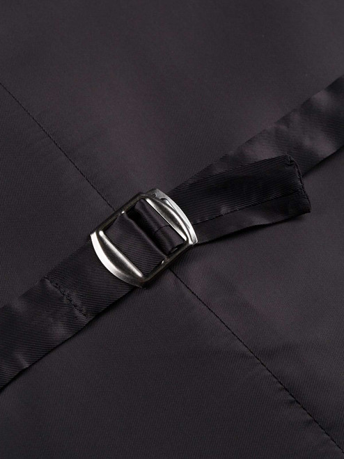 Harlequin Black and White Waistcoat