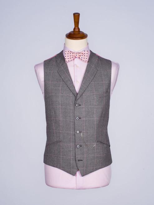 Pink Prince of Wales Waistcoat