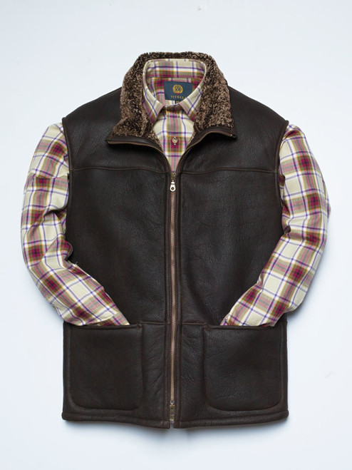 Shearling Leather Gilet