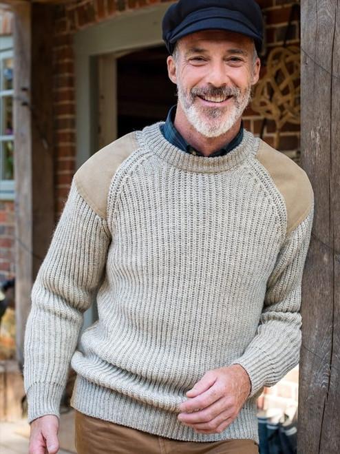Crewneck Fisherman Sweater