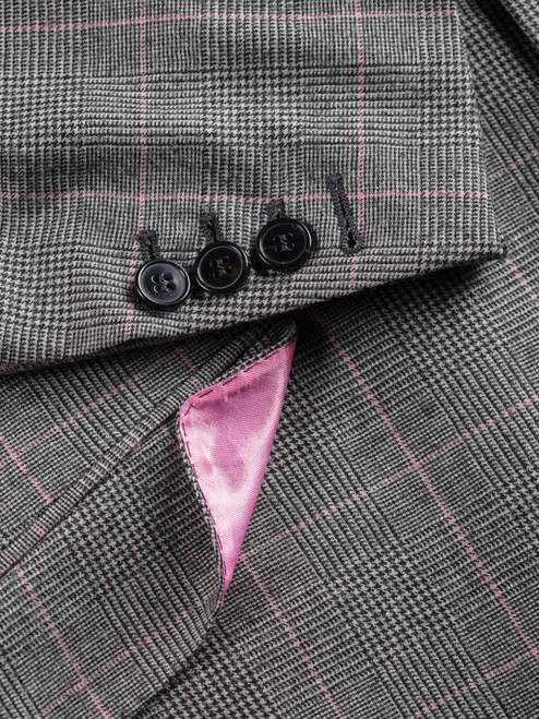Pink Prince of Wales Jacket