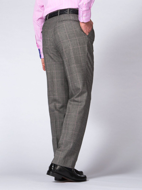 Pink Prince of Wales Trousers