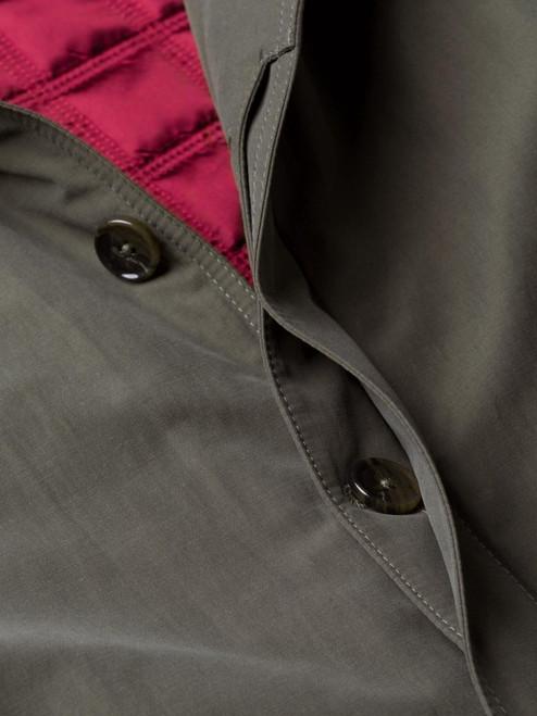 Lovat Green Weatherwear Padded Raincoat