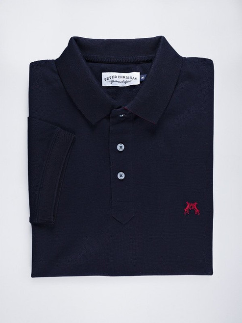 Folded Image of Navy Blue Original Polo Shirt