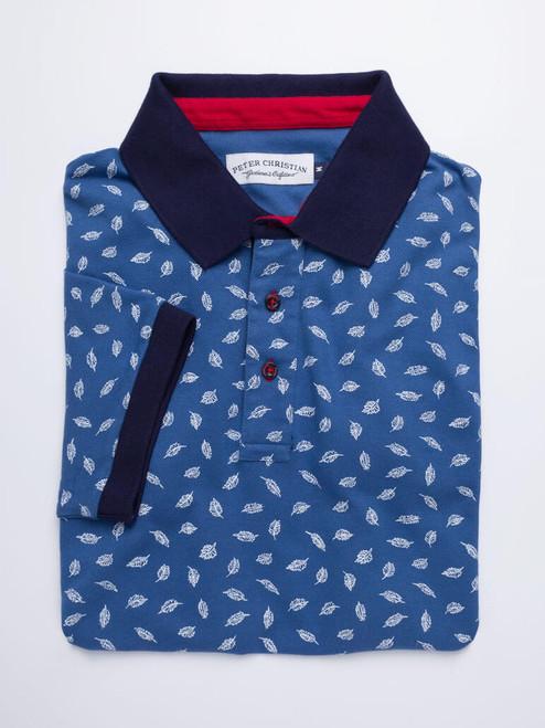 Image of Blue Leaf Original Polo Shirt