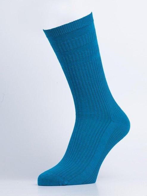 Aqua HJ Softop® Cotton Socks