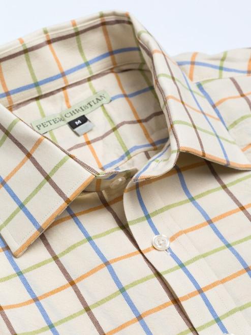 Collar of Rust Big Check Tattersall Shirt