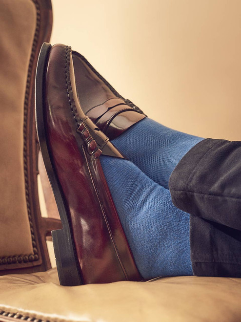 Close Up Image of Penny Loafers