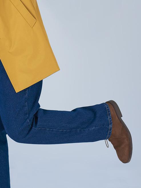 Close Up Image of Denim Jeans