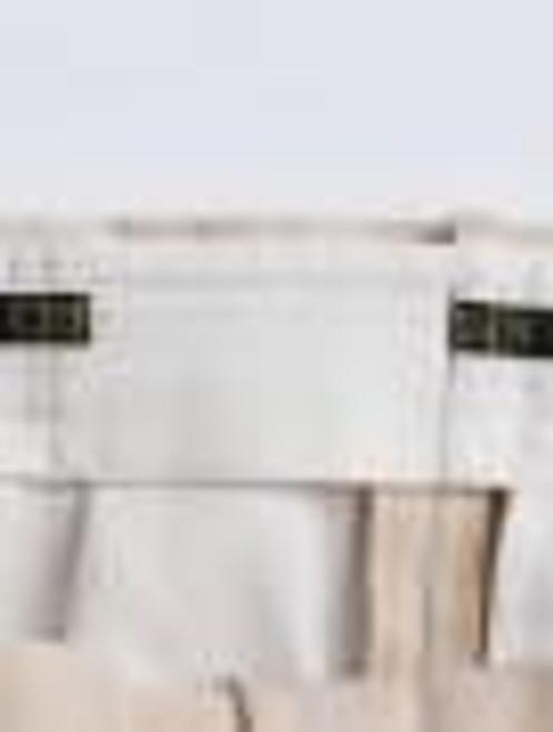 Expanding comfort waistband on Stone Chino Suit