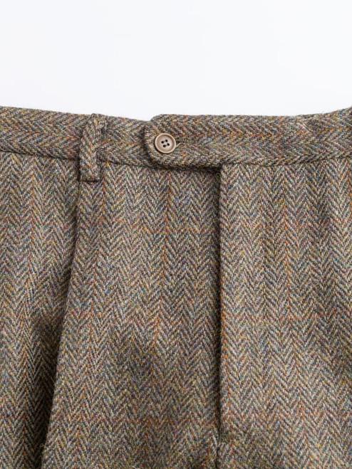 Image of Bracken Brown Harris Tweed Trousers