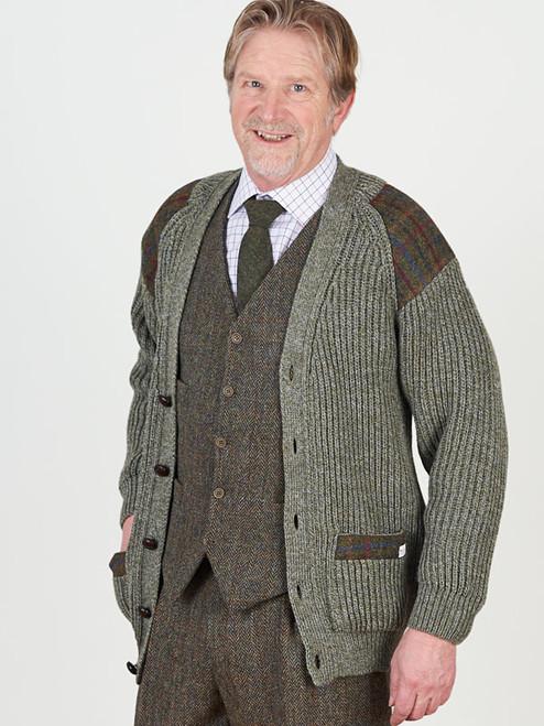 Laird Derby Tweed Cardigan