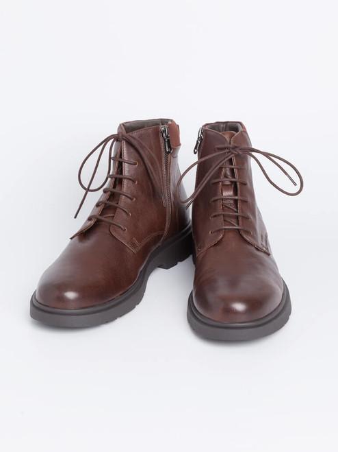 Geox Spherica Zip-up Leather Boots