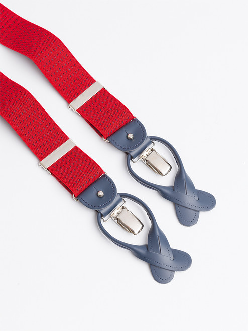 Red Dot 2-in-1 Classic Pattern Braces