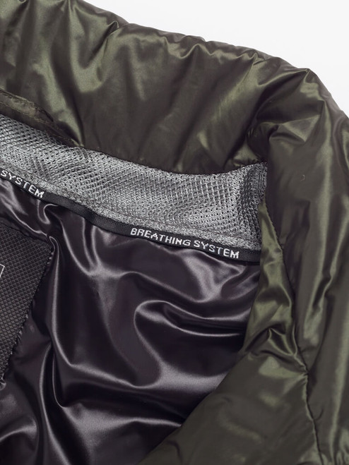 Breathable Green Geox Down Jacket