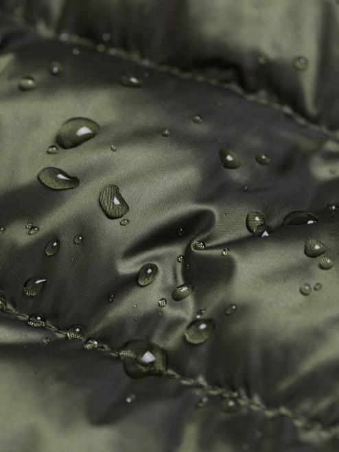 Water repellent Green Geox Down Jacket