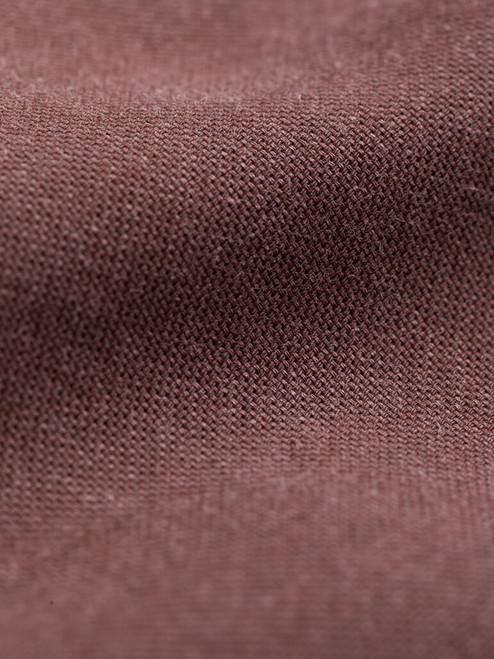 Fabric detail of Chocolate Half Placket Shirt