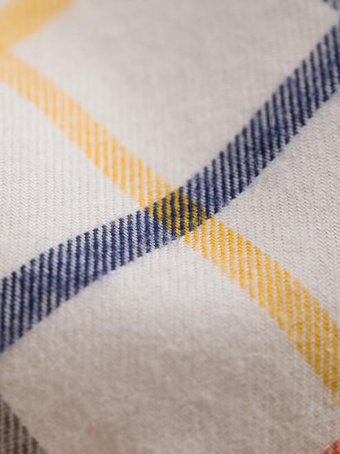Detail of Corn Big Check Tattersall Shirt