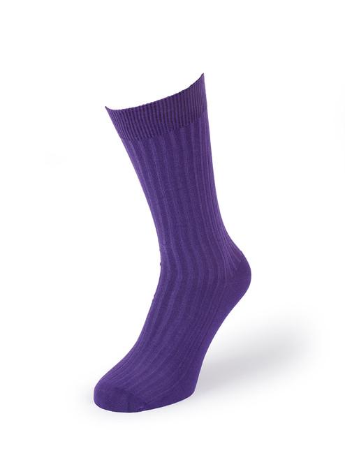 Purple Luxury Bamboo Socks