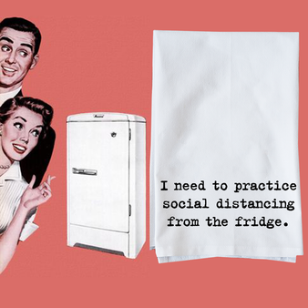 Social Distancing From the Fridge