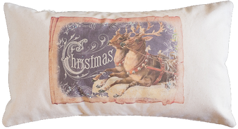 Christmas Post Pillow