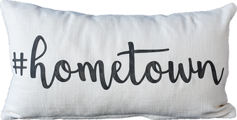 #Hometown Pillow
