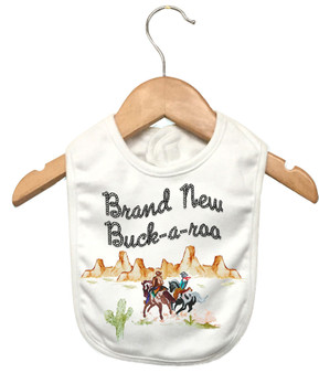 Brand New Buck-a-roo Bib