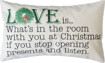 Love Is . . . Pillow