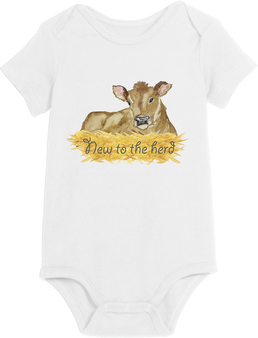 New to the herd boy Onesie