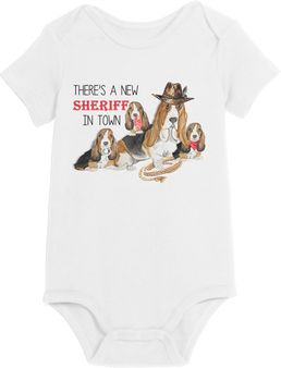 There's a new sheriff in town Onesie