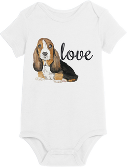 Puppy Love Boy Onesie