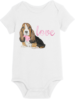 Puppy Love Girl Onesie
