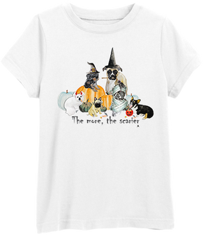 The more the scarier Tee
