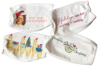Christmas Cotton Mask Set