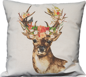 Floral Fall Stag
