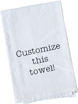 Custom Towel  | You Choose the Design