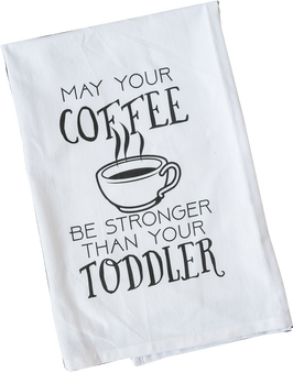 Coffee stronger than Toddler