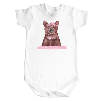Bearly Awake Girl Onesie