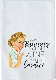 Does running out of wine count?