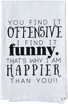 You find it Offensive