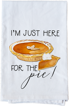 I'm just here for the Pie!