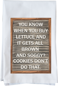 Cookies don't do that