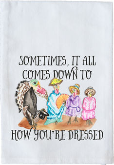 How You're Dressed Watercolor