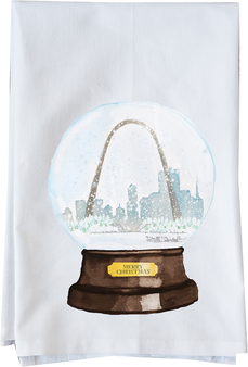 Snow Globe Saint Louis Skyline