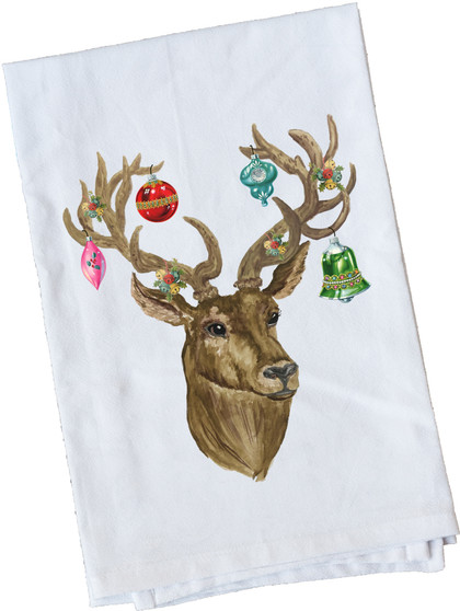 Stag With Ornaments