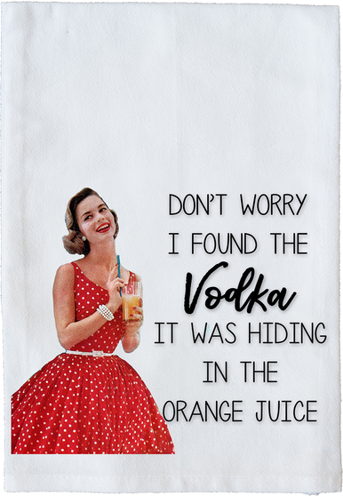 Don't worry I found the Vodka